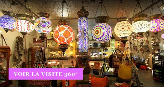 Visitez notre boutique en 360°