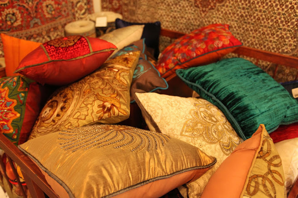 50% discount on Oriental cushions