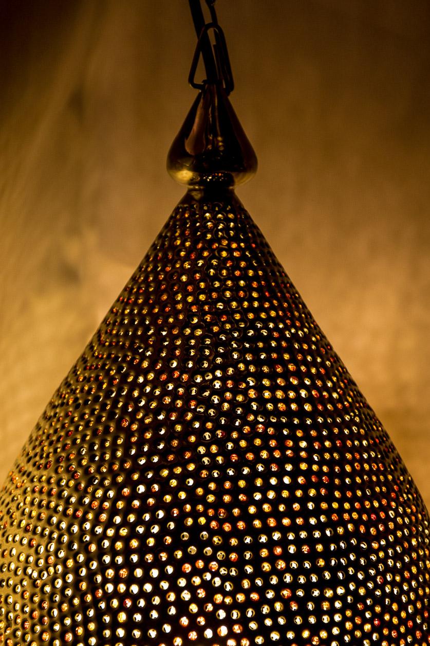 Lampe suspendue perle d'Orient
