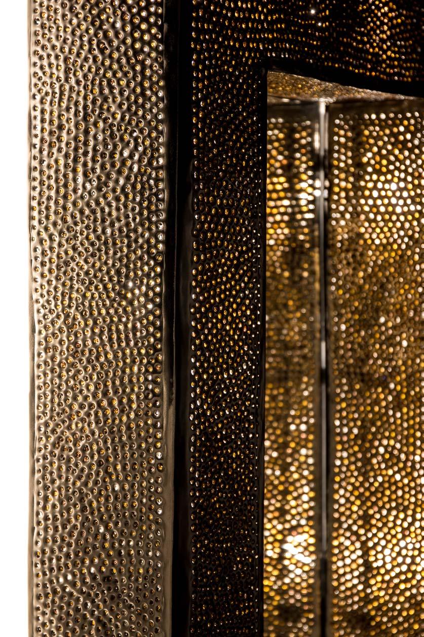 Miroir rétroéclairé de billes