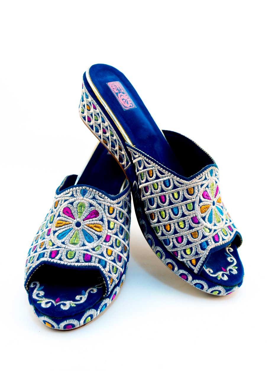 Sandales marocaines à plateforme