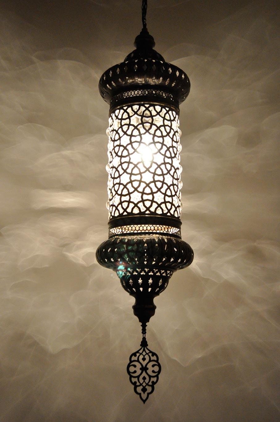 Lampe ottomane suspendue