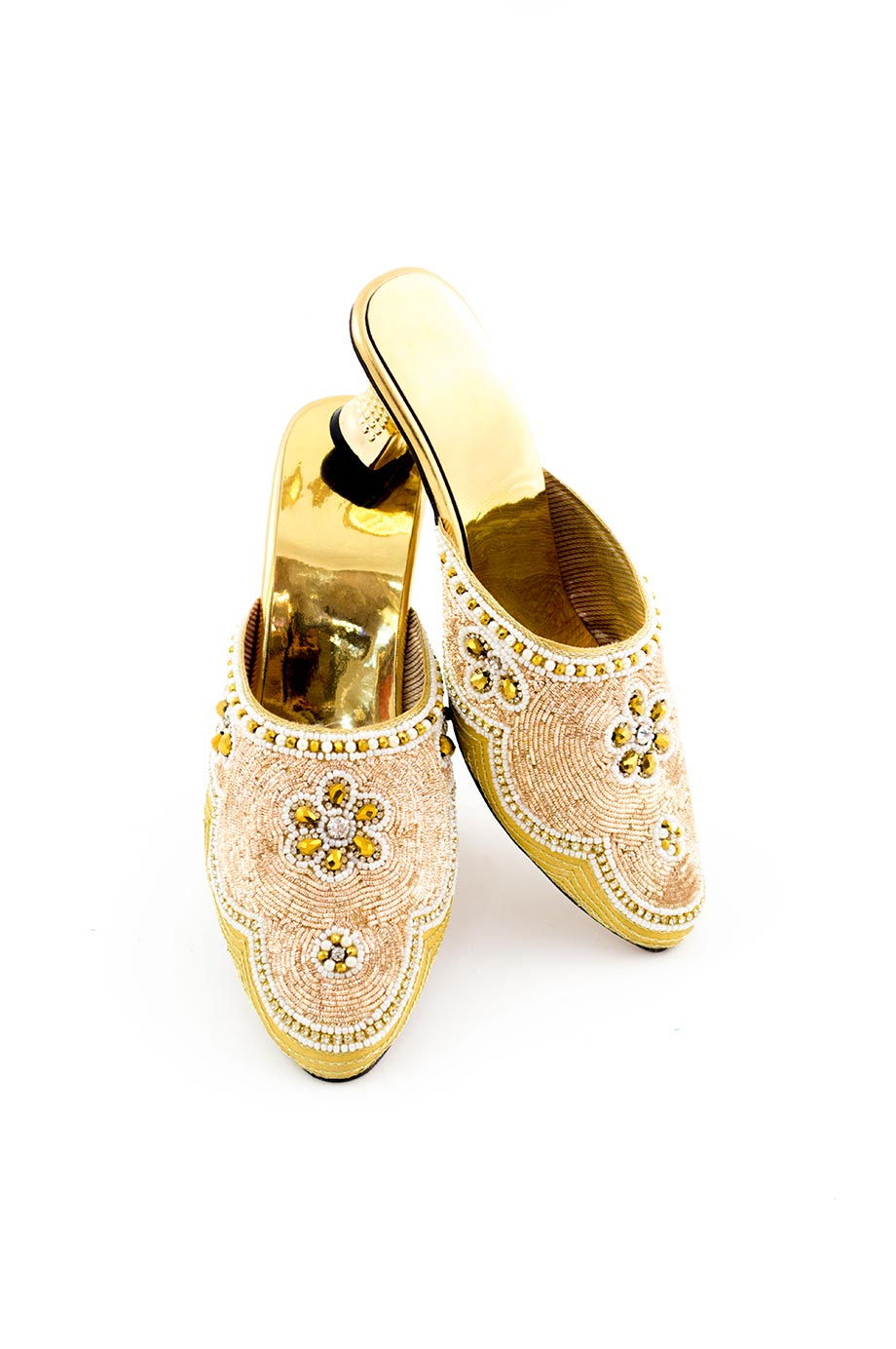 Escarpins de princesse indienne