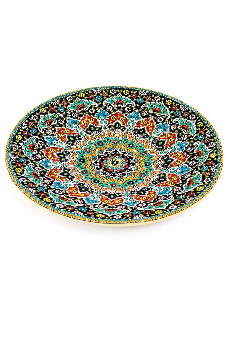 Assiette avec motif de dentelle en relief 30 cm