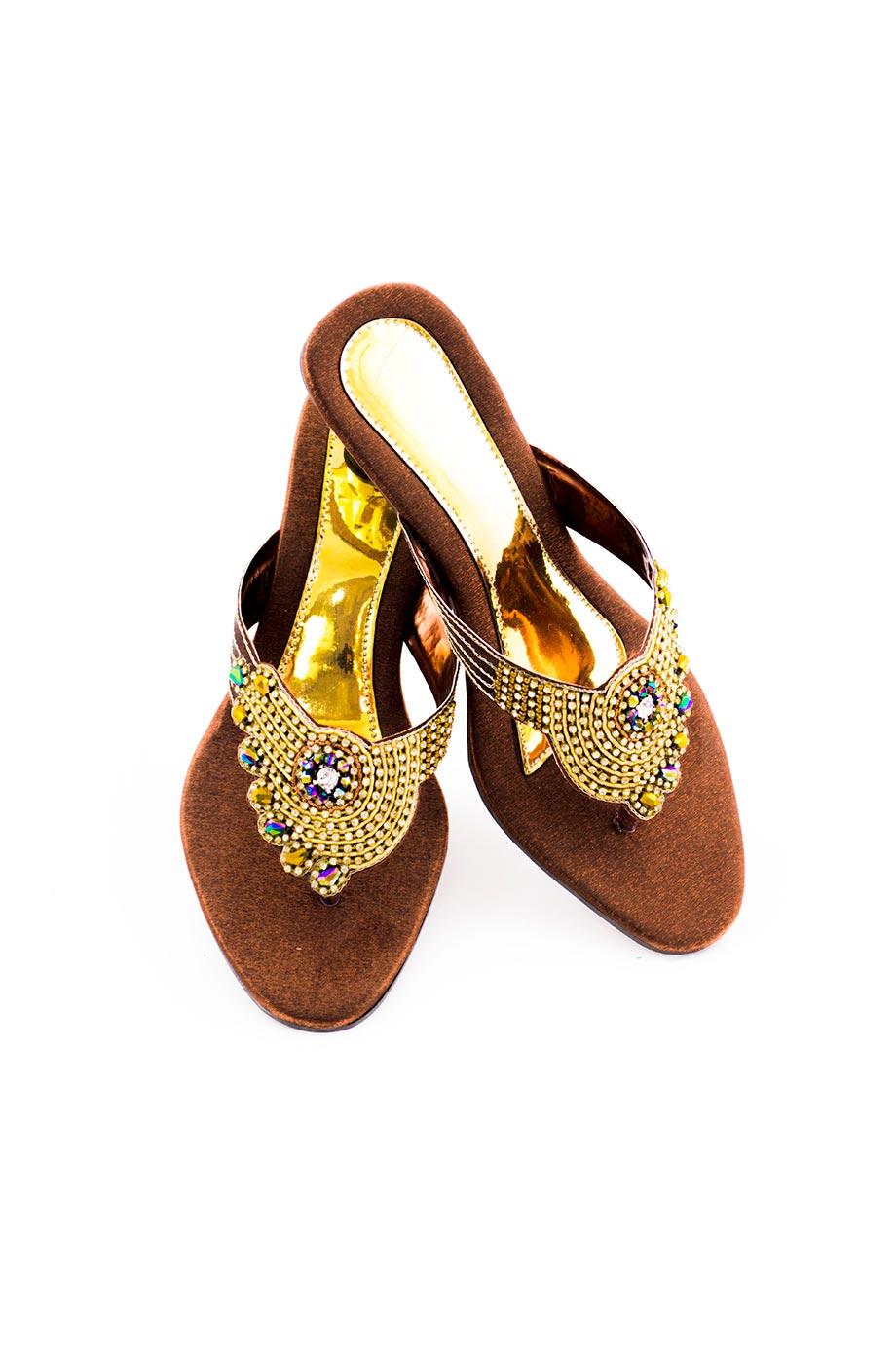 Sandale papillon