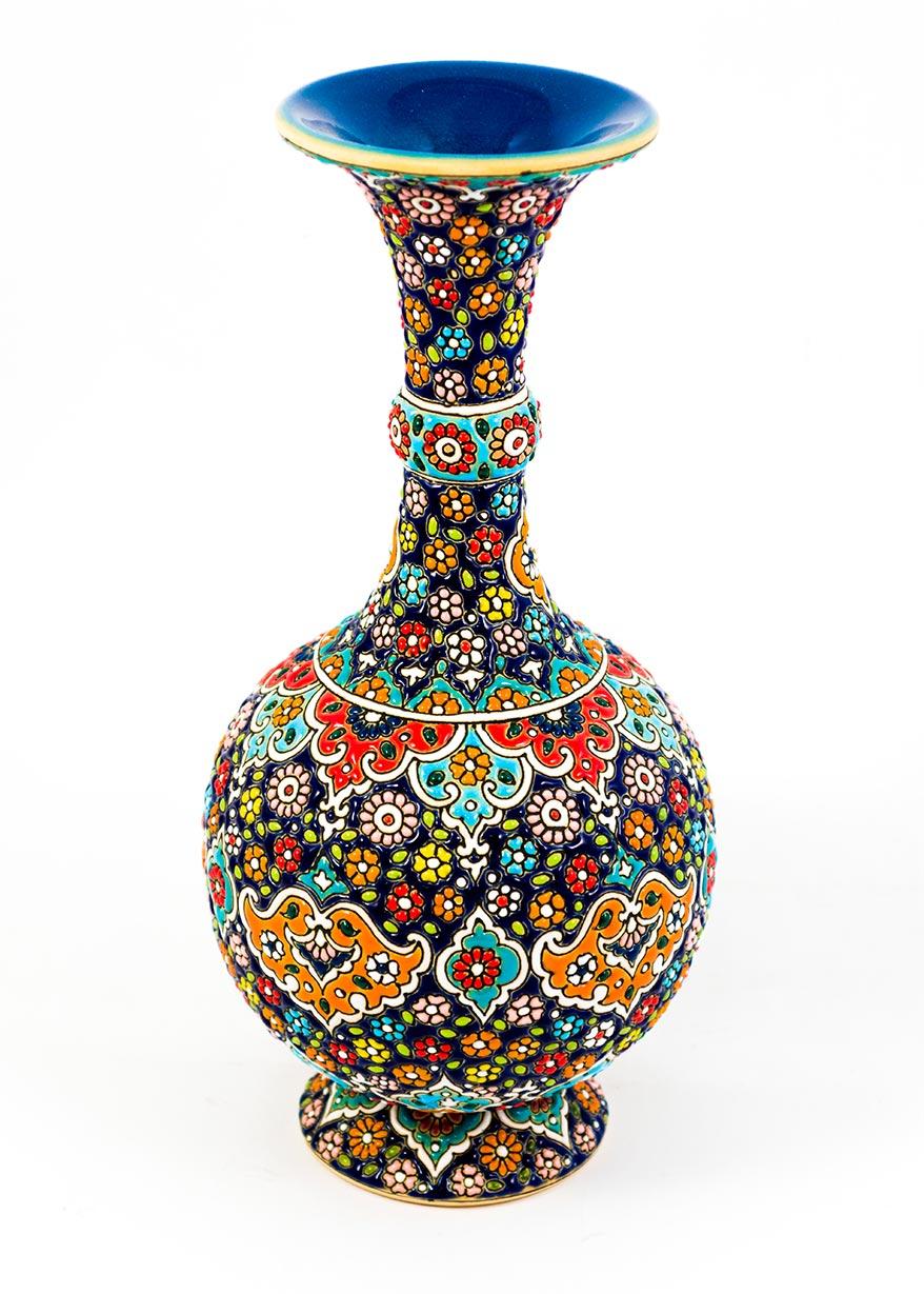 Petit vase à col renflé