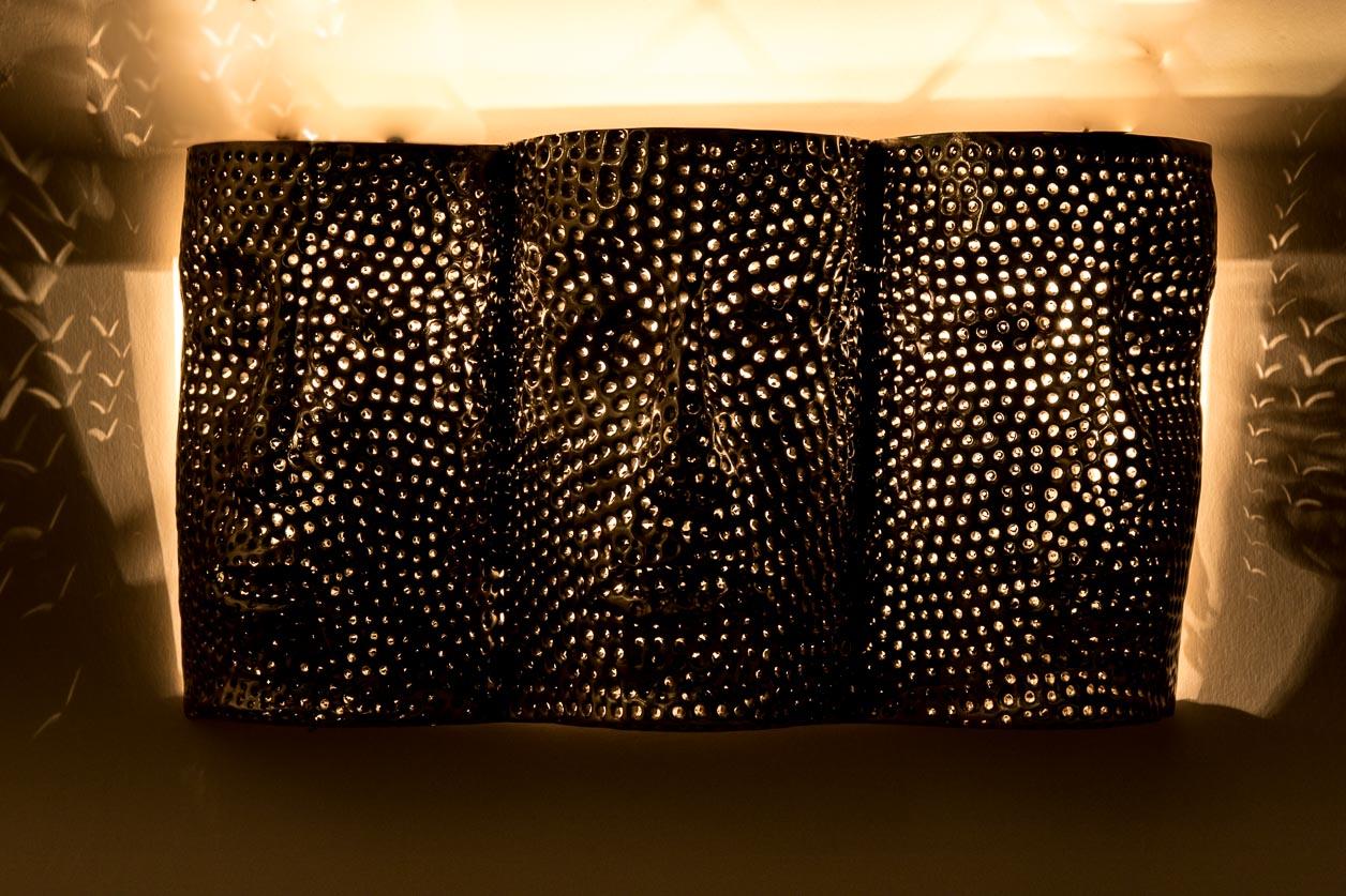 Murale aux trois visages