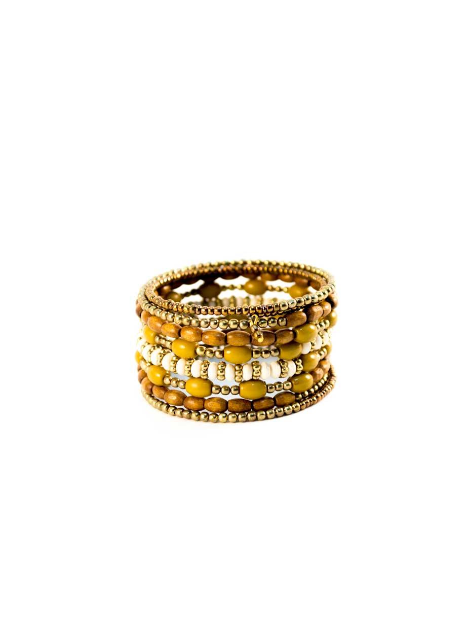 Bracelet spiralé