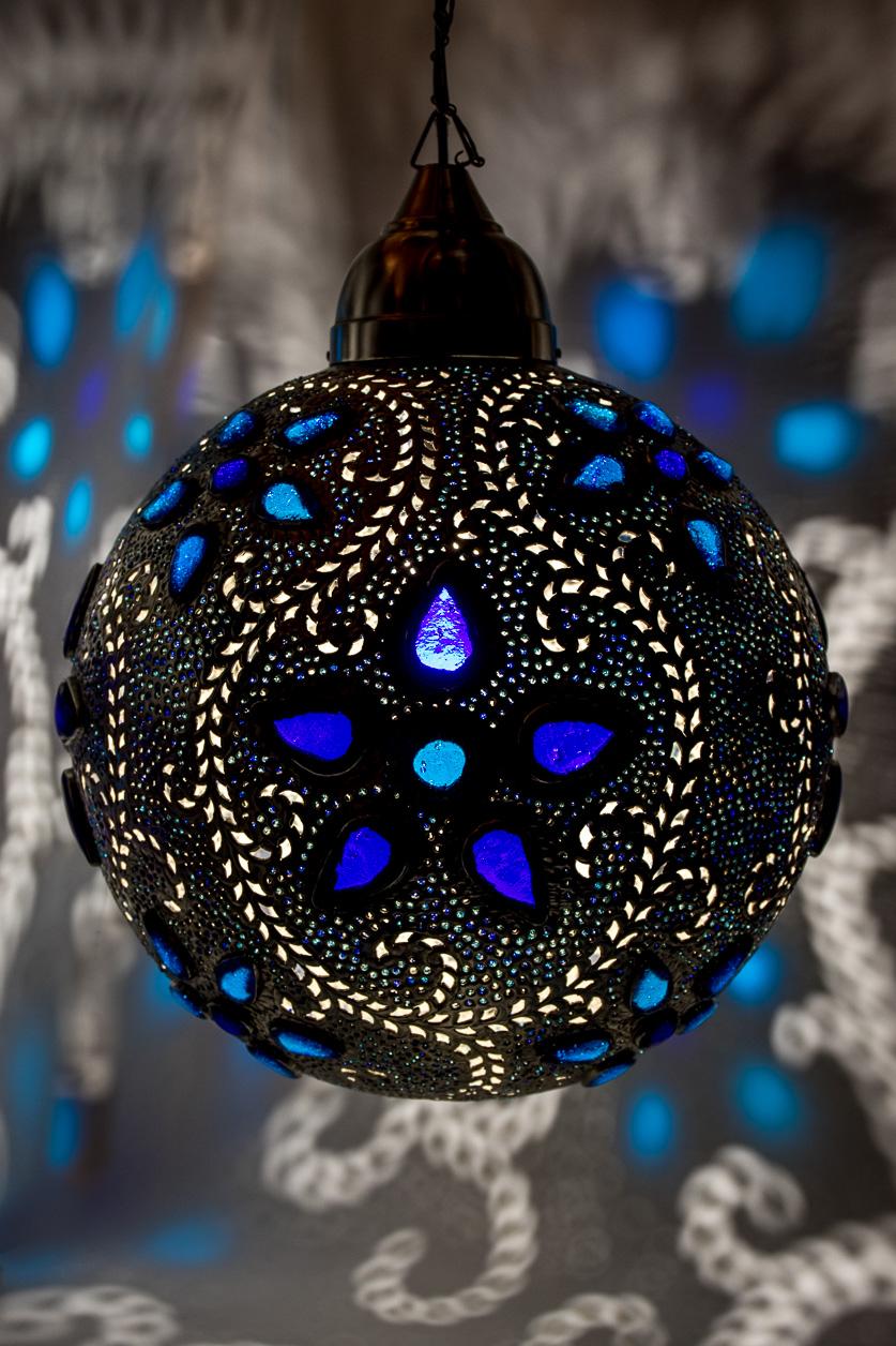 Arabesque bleue