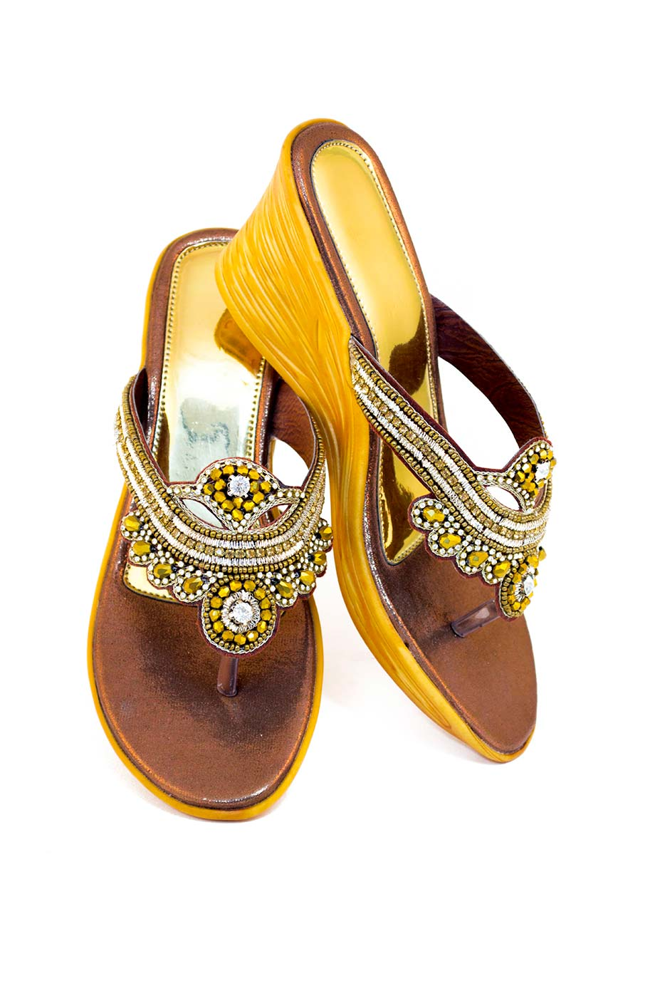 Sandale ornée
