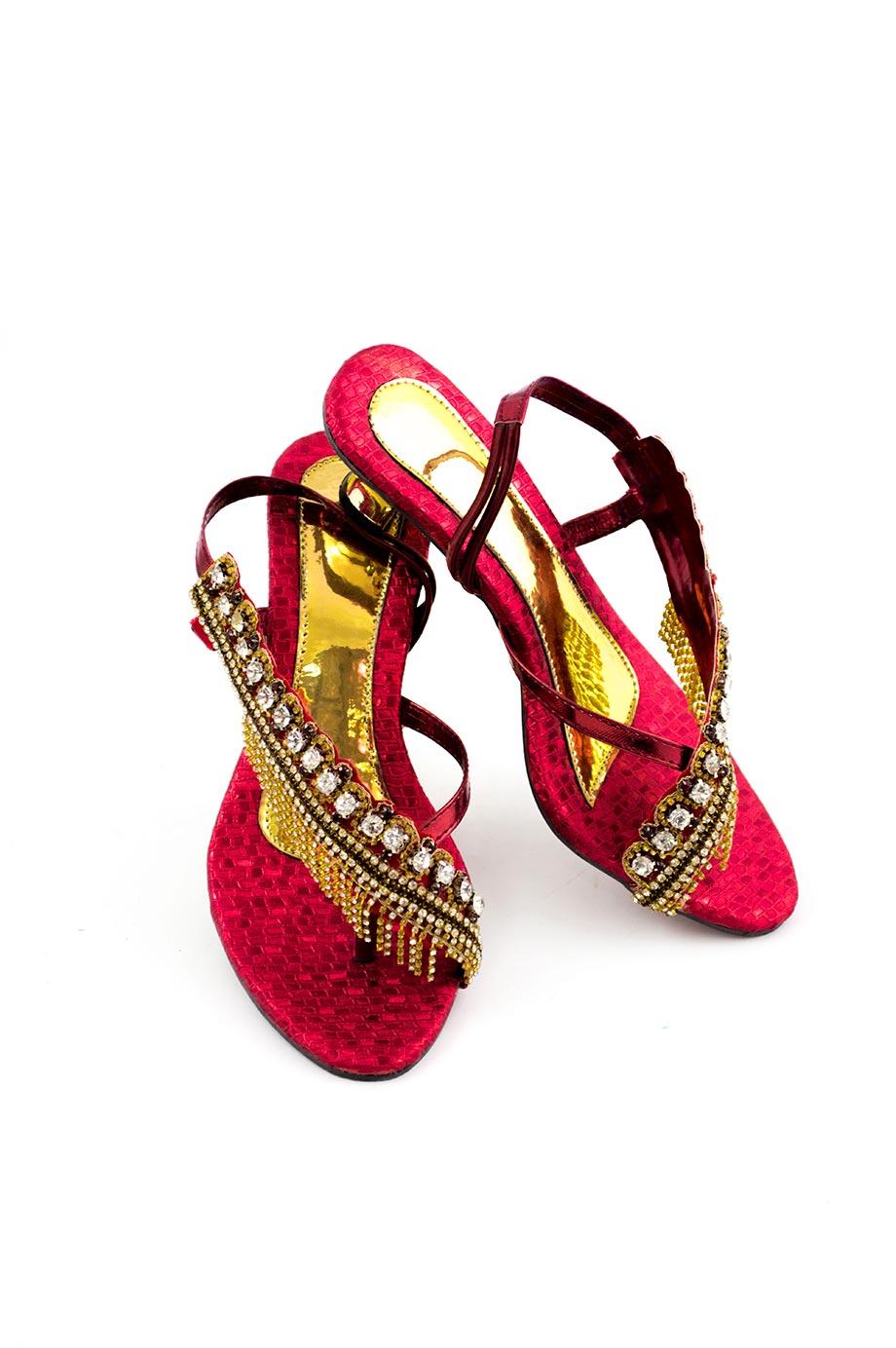 Sandale à franges